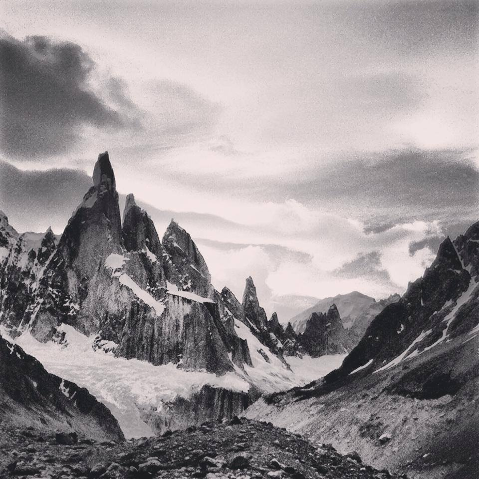Cerro Torre in December 2013  Photo Jason Kruk