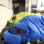 Cozy sleeps at 3,800 metres