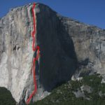 The Nose rises from Yosemite Valley. Photo Gripped Collection