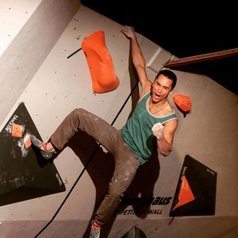Sean McColl Climbing Works Comp