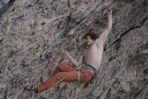Adam Ondra 5.15 Flash Attempt