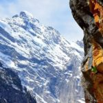 Vikki Weldon Climbs Chamonix Granite, Sends in Switzerland