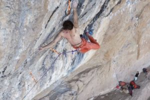 Chris Sharma on Le Blond