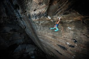 Michaela Kiersch and The Golden Ticket 5.14c