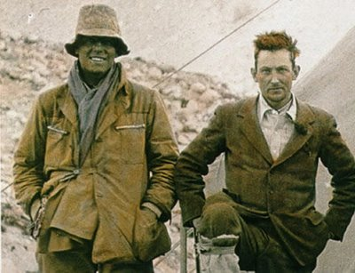 George Mallory's ice axe sold, but was it really his ... George Mallory And Andrew Irvine