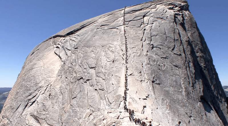 Half Dome Cables Open Early Due To Drought Gripped Magazine