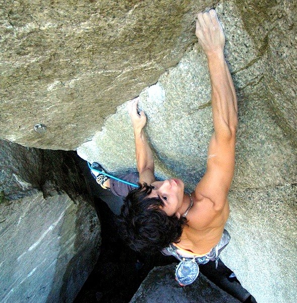 In 2009, McColl made the second ascent of the famous Squamish route Dreamcatcher 5.14d. The route has still only had three ascents. Photo Gary Foster