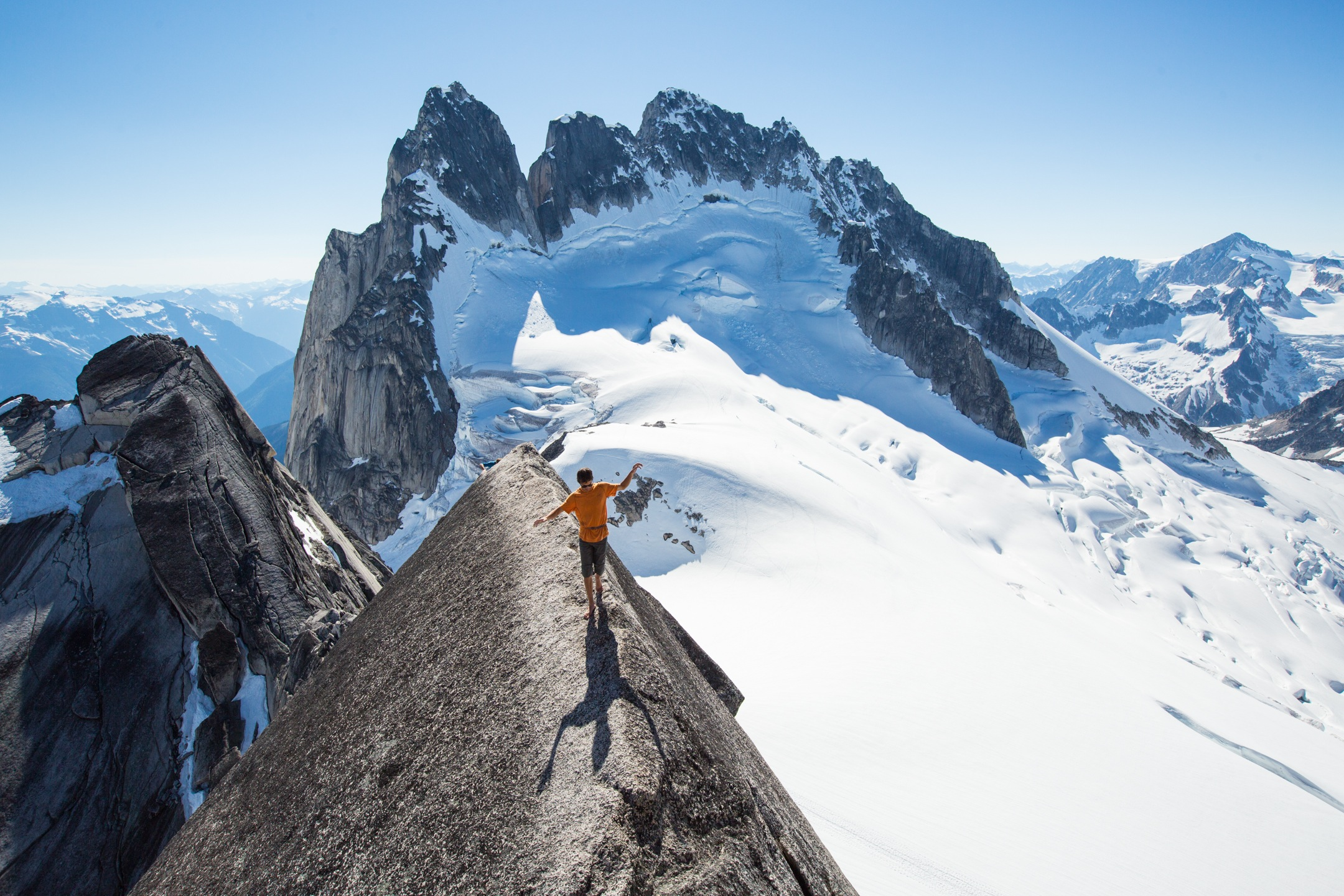 Watch Top Climbers Send In The Bugaboos Gripped Magazine