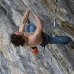 Adam Ondra Climbs New 5.15b in Arco