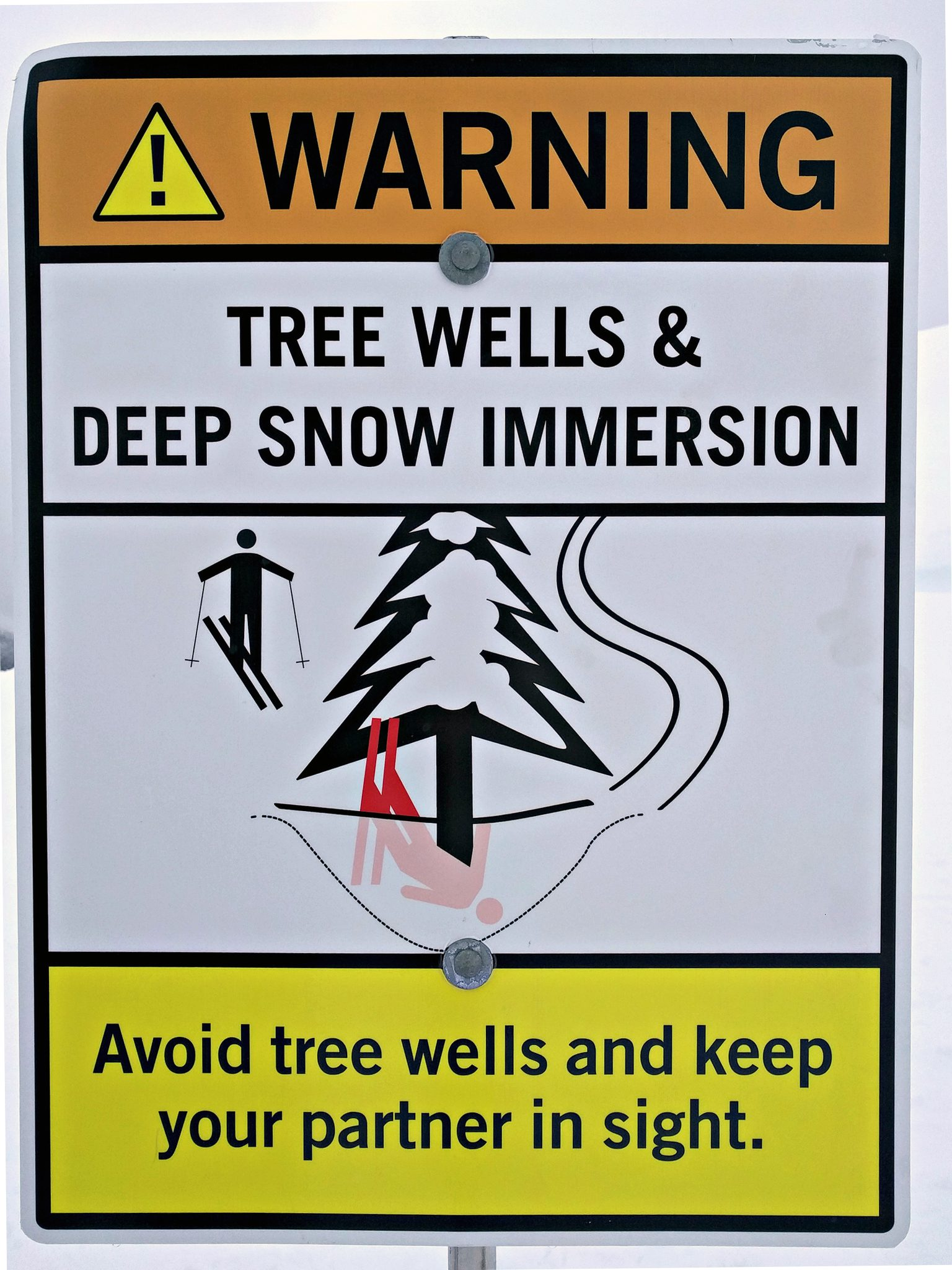 Tree Well Sign - Gripped Magazine