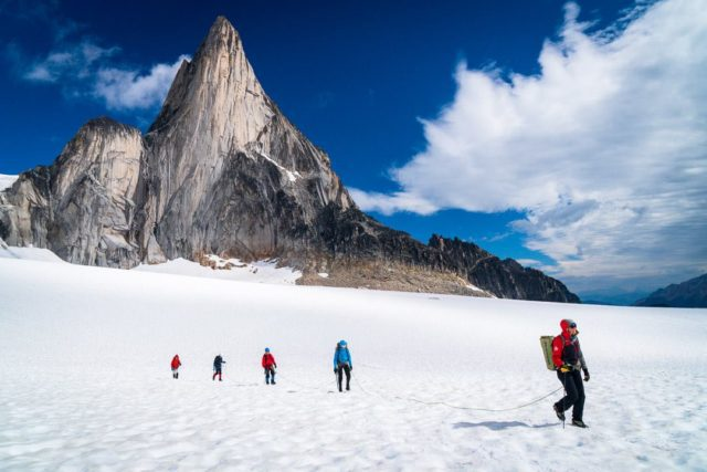 Big Alpine Highline is the First in the Bugaboos - Gripped