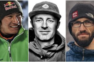 David Lama, Jess Roskelley and Hansjorg Auer