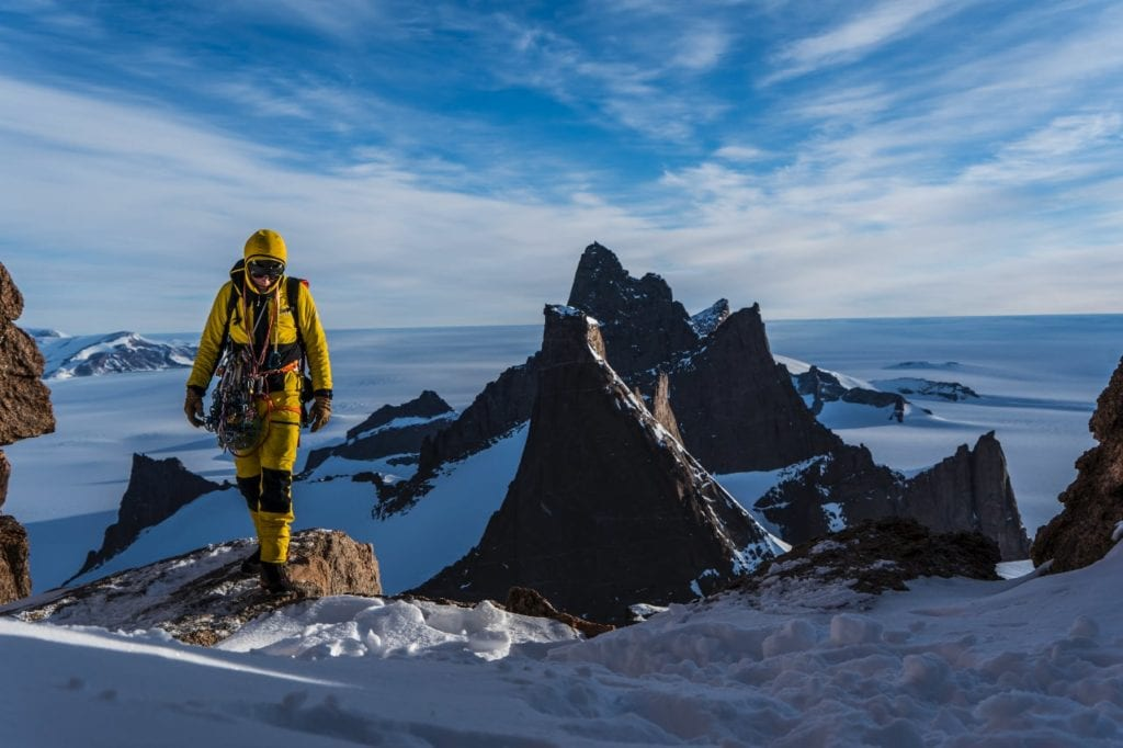 Anker in Antarctica